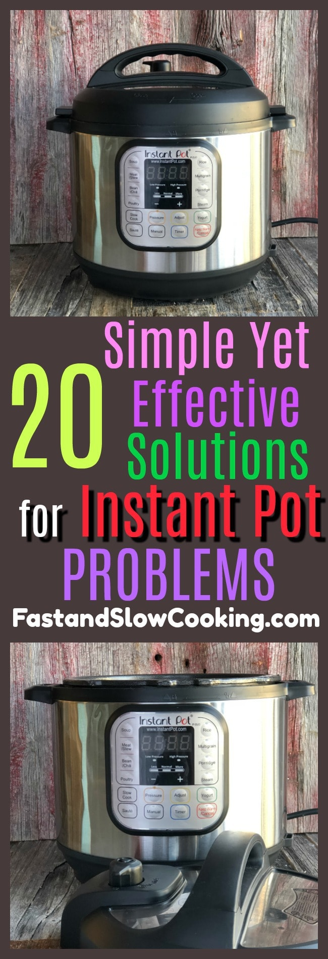 20 simple yet effective solutions for instant pot problems