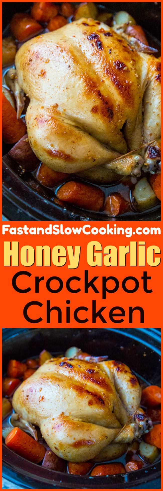 Honey Garlic Crockpot Chicken and Vegetables