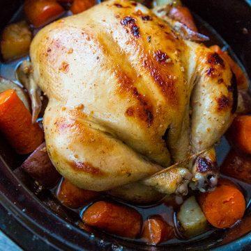 Crockpot Chicken – Honey Garlic