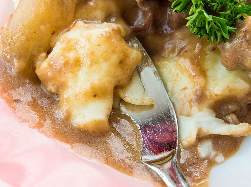 Instant Pot Mashed Potatoes and gravy