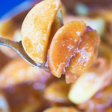 Instant Pot Fried Apples – Like Cracker Barrel!