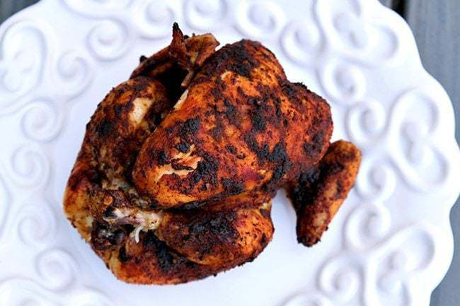 Delicious, Fall off the bone Crockpot Rotisserie Chicken that your family will love.