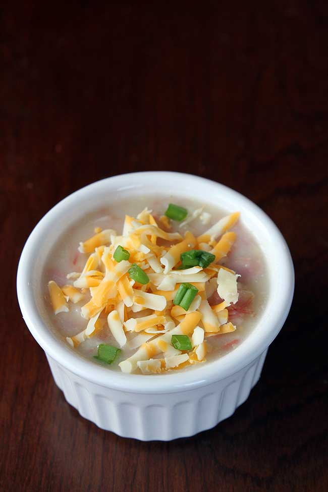 Crockpot Ham and Potato Soup